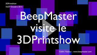 Lire Vidéo-reportage 3DPrintShow 2015